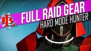 Destiny Full HUNTER HEROIC RAID GEAR - Wrath of the Machine Hard Mode Armor
