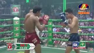 Lao Chetra vs Yodphayak (Thai) Bayon Khmer boxing 11/11/2018
