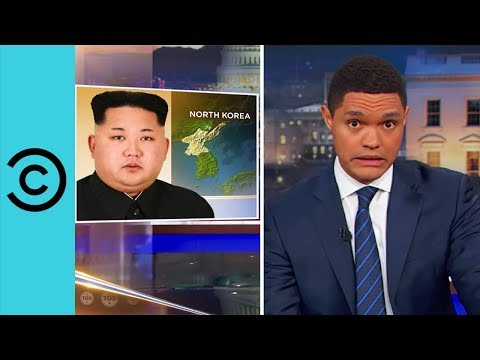 Trump s War With North Korea The Daily Show Comedy Central