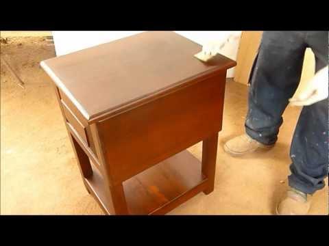 Pintar decape mueble madera