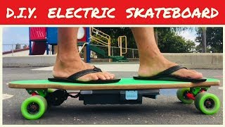 DIY Electric Skateboard - How To Make E Board on Budget - Complete Tutorial