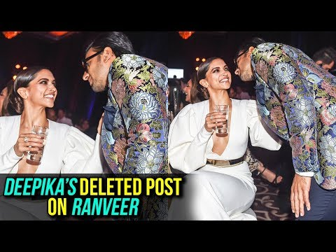Xxx Mp4 Deepika Padukone Says Ranveer Singh Is Mine Then DELETES The POST 3gp Sex