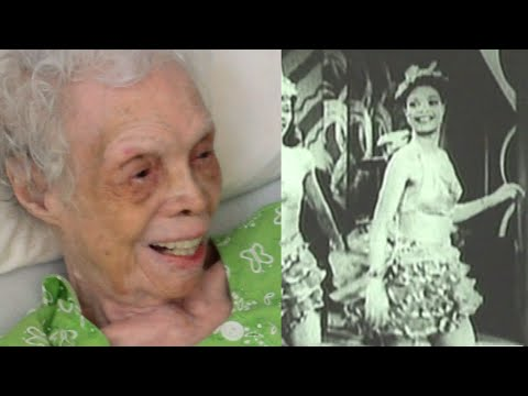 102 y o Dancer Sees Herself on Film for the First Time