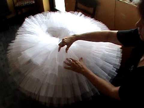 Как сделать пачку балерины