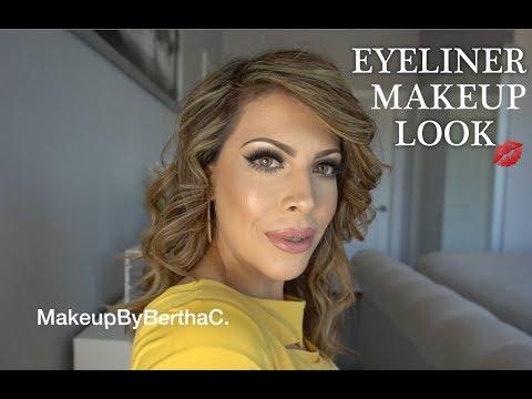 Xxx Mp4 MAQUILLAJE CON DELINEADOR NEGRO L Bertha Makeup 3gp Sex
