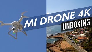Xiaomi Mi Drone 4k Unboxing, Set Up & Test Flight Review (DJI Phantom 4 Alternative)