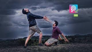 Picsart manipulation swappy Pawar editing  2018 Awesome editing tutorial |#swappy Pawar editing