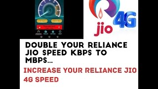How to increase Your Reliance Jio sim Downloading speed ( Facing Slow Speed ) Latest Trick 100%Work.