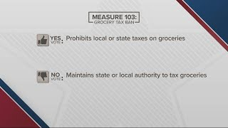 Oregon's Measure 103 and grocery taxes: What it means