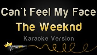 The Weeknd - Can't Feel My Face (Karaoke Version)