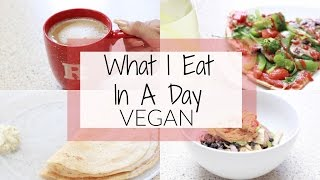 What I Eat in a Day | Vegan | Simple Fast Indian & American Recipes | Dosa, Burrito Bowl, etc