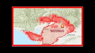 US Newspapers - Map hot spots: see where california fires are growing