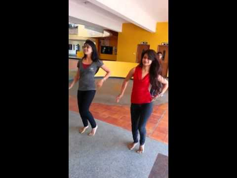 Pakistani Girls dance at college  ,March 2014
