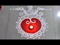 Quick and easy Diwali special Sanskar Bharti Rangoli Design- daily Rangoli design