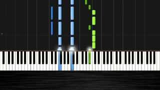 John Legend - All of Me - Piano Tutorial by PlutaX - Synthesia