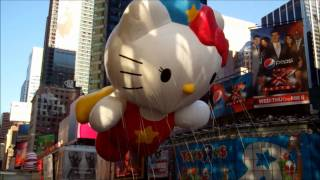Hello Kitty Macy's Thanksgiving Day Parade 2011