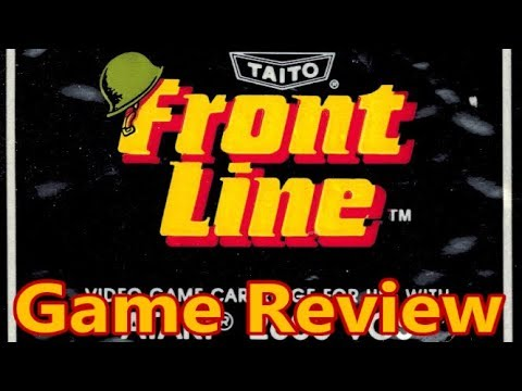 Xxx Mp4 Front Line Atari 2600 Review The No Swear Gamer Ep 472 3gp Sex
