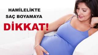 Hamileyken Saç Boyatılır Mı?