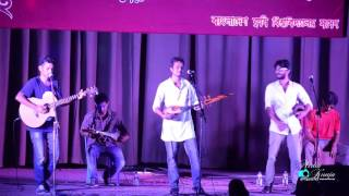 Aam Bagane Gan poka Covered By shovon live at BAU