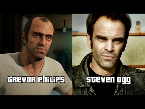 Grand Theft Auto V GTA 5 Characters and Voice Actors
