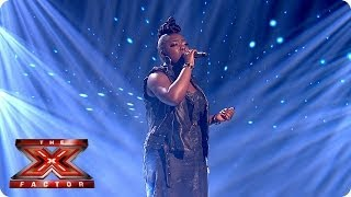 Hannah Barrett sings Read All About It by Emeli Sande - Live Week 3 - The X Factor 2013