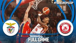 SL Benfica (POR) v Elan Chalon (FRA) - Full Game - FIBA Europe Cup 2016/17