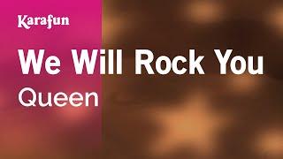 Karaoke We Will Rock You - Queen *