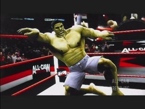 WWE 13 Superheroes vs Zombies Avengers vs Freddy & Jason All CAW S4 Ep4 Part 2