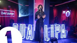 Dua Lipa 'Cruel' (Snakehips cover)  in the Live Lounge