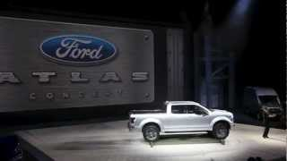 Ford Atlas Concept | Introduction at NAIAS