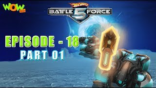 Motu Patlu presents Hot Wheels Battle Force 5 - Mag Wheels - Episode 18-P1- in Hindi