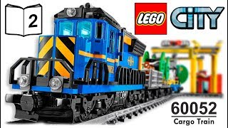 TRAINS FOR CHILDREN LEGO CITY Cargo Train 60052 Review Instructions 2