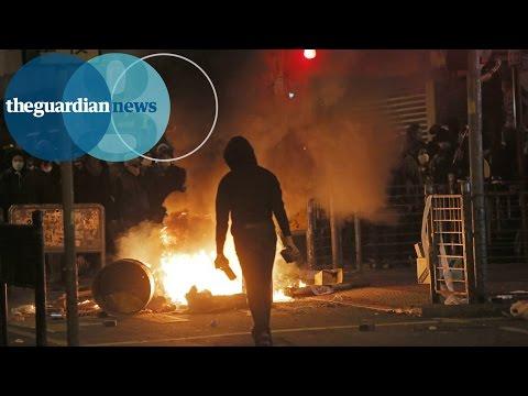 Xxx Mp4 Hong Kong Police Clash With Fishball Revolution Demonstrators 3gp Sex