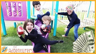 Groundies Temptations - PLAYGROUND WARS! / That YouTub3 Family   The Adventurers