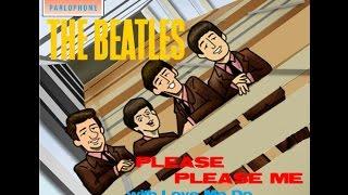 Please Please Me - The Beatles Full Album Cover