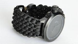 How to Make a Conquistador Paracord Watch Band- DIY Watchband-CbyS