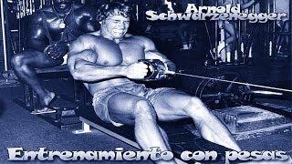 Arnold Schwarzenegger entrenando - Arnold Schwarzenegger training
