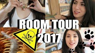 ANIMAL ROOM TOUR | WARNING | VENOMOUS PETS