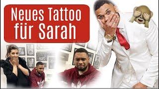 Neues Tattoo für Sarah ♡ Team Harrison