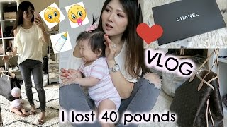 VLOG! The TRUTH🤔about HOW I LOST🤰🏻BABY WEIGHT+More Cooking 👨‍👩‍👧‍👦💕