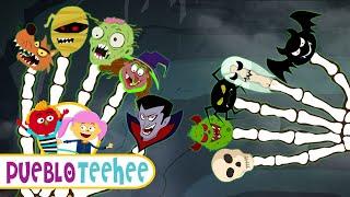 Familia Dedo de Halloween - Canción Infantil | Pueblo Teehee