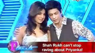 SRK gives Priyanka a 'jhatka'