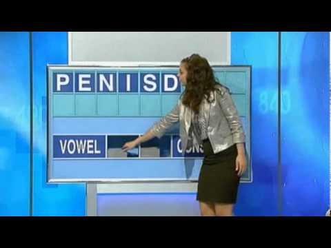 PENISDUMP: Letters & Numbers game show fail