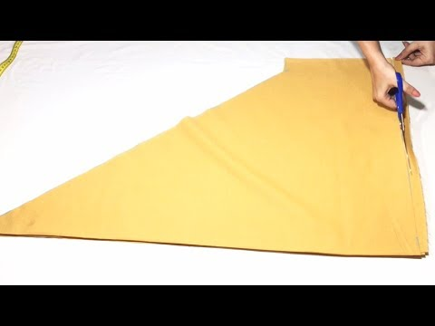2 Meter Simple Salwars cutting ||  2 मीटर में सलवार की कटिंग