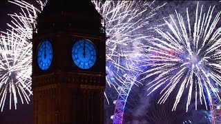 London Fireworks 2016 - New Year's Eve Fireworks - BBC One