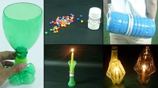 15 Easy and Quick Plastic Bottle Recycling Ideas | DIY & Crafts