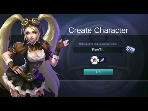 100% WORK create new account mobile legend 2017