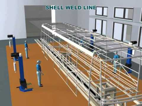 Von Bus Assembly Plant Video
