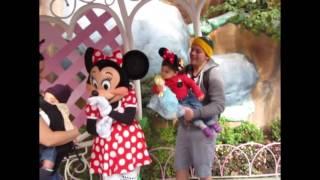 The Gillie Family takes on Disneyland
