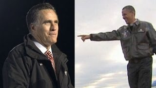 2012 Presidential Election: Romney, Obama's Final Campaign Moments